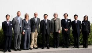 kinesisk delegasjon med jvs ledergruppe